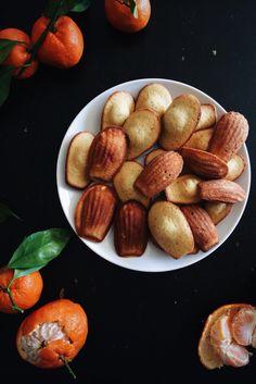 Satsuma madeleines