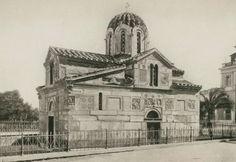 1923 Ο Άγιος Ελευθέριος ή Παναγία η Γοργοεπήκοος (Μικρή Μητρόπολη) από τα νοτιοδυτικά. - REISINGER, Ernst