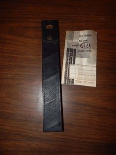 Vintage Frederick  Post Slide Ruler