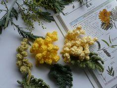 アクリル毛糸のミモザ - 野の花ガーデンblog