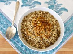 Mujadara - Traditional Middle Eastern Recipe for Sephardic Passover