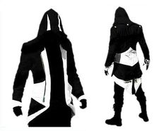 Amazon.com: Assassins Creed III Connor/conner Kenway Hoodie Costume Jacket Coat - 7 Opitions: Clothing