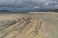 Traigh Sheileboist. Sand Patterns. Isle of Harris. Eilean Siar. Scotland.