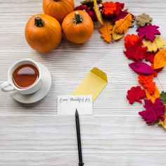 Let the place cards on your holiday table play double duty. Invite your Thanksgiving guests to give thanks with pen & paper! Mighty Leaf Tea, Holiday Tables, Pen And Paper, Give Thanks, Happy Thanksgiving, Invitations, Invite, Herbalism, Place Cards