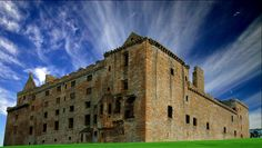Linlithgow Castle in Linlithgow, a Royal Bourgh in West Lothian, Scotland