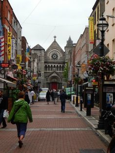 south Anne Street, just off of Grafton Street, Dublin Ireland