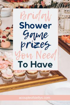 Discover these bridal shower game prizes that will fit your budget. From self-care to around the house game prizes they'll use. Find the best shower game prizes in this list. Gifts For Bridal Shower Games, Bridal Ahower Games, Wedding Shower Prizes, Baby Shower Game Prizes, Bridal Shower Planning, Bride Shower, Bridal Shower Rustic, Bridal Shower Party, Wedding Showers