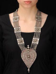 Drop Silver Necklace