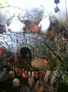 Halloween fairy garden - Linda Ferreira