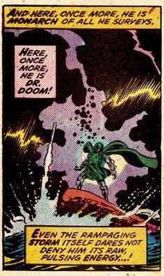 "comicbookvault: ""Giant-Size Super-Villain Team-Up #1 (March 1975) Art by John Buscema & Joe Sinott Words by Roy Thomas"" Marvel"