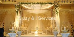 Simple mandap - try in a different color.