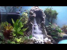 aquascape two sandfall - YouTube