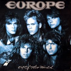 EUROPE 1988 OUT OF THIS WORLD VINTAGE PROMO POSTER  Link to Rock On Collectibles: http://stores.ebay.com/Rock-On-Collectibles/Metal-Posters-/_i.html?_fsub=19452565&_sid=70220124&_trksid=p4634.c0.m322