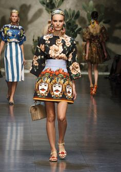 Dolce & Gabbana – Summer 2013