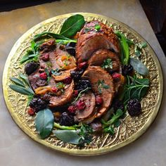 16th century wild boar (or pork) with dates, prunes, cherries and rose – it's Italian food before tomatoes inspired by a new novel.