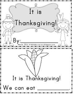 Little Warriors: Thanksgiving Fun Freebies!!!