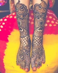 58 Ideas For Bridal Henna Designs Indian Weddings Colour