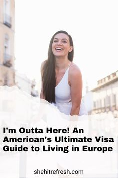 Trying to figure out how to get a visa that will let you stay in Europe for the long-term, where you can work (even remotely), teach, and even retire there? Check out our ebook that will give you all the information you need. Living In Europe, Make New Friends, Digital Nomad, Remote, Community, American, Tips, Check, Women