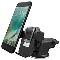Amazon.com: iOttie Easy One Touch 3 (V2.0) Car Mount Universal Phone Holder for iPhone 7 Plus 6s Plus SE Samsung Galaxy S7 Edge S6 Edge Note 5- Retail Packaging- Black: Cell Phones & Accessories
