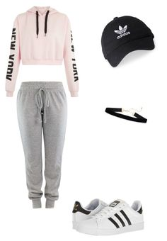 """""""Adidas"""" by kaycass1 on Polyvore featuring adidas"""