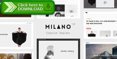 [ThemeForest]Free nulled download Milano - Creative Template for Professionals from http://zippyfile.download/f.php?id=21409 Tags: agency, clean, creative, design, gallery, masonry, Milano, minimal, photography, portfolio, product, showcase, studio, video