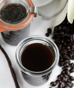 Homemade Coffee Liqueur Mason Jar | Find the best craft ideas for how to decorate mason jars, for Christmas gifts that everyone on your list will love.