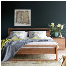 Ethnicraft Light Frame Bed | MisterDesign