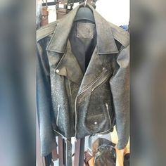 Leather jacket wash  Original from garut indonesia  $111
