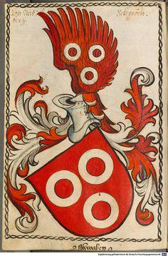 Scheibler'sches Wappenbuch Süddeutschland, um 1450 - 17. Jh. Cod.icon. 312 c  Folio 310