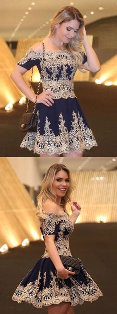 2017 homecoming dresses,lace homecoming dresses,short homecoming dresses,navy blue homecoming dresses
