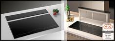 Aspira Integra - Integrovaná digestoř do indukční varné desky Flat Screen, Blood Plasma, Flatscreen, Dish Display