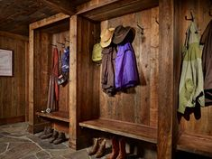 Mountain Retreat - rustic - Entry - Other Metro - Yellowstone Traditions