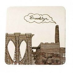 A set of coasters from your hometown, or theirs. | 21 Easy And Inexpensive Hostess Gifts
