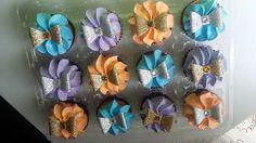 sparkle cupcakes