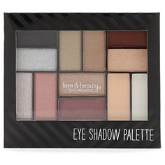 Forever 21 Eyeshadow Palette ($5.90) ❤ liked on Polyvore featuring beauty products, makeup, eye makeup, eyeshadow, palette eyeshadow and forever 21
