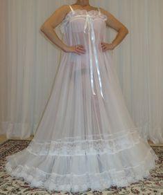 Vintage Lingerie, Women Lingerie, Plus Size Vintage, Prom Dresses, Formal Dresses, Plus Size Lingerie, Night Gown, Satin, Lace
