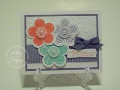 Posy Punch Card by Haileydy - Cards and Paper Crafts at Splitcoaststampers