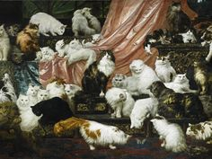 """Carl Kahler, """"My Wife's Lovers"""" (1893) Photo : Sotheby's"""