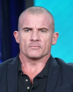 """Dominic Purcell Photos Photos - Actor Dominic Purcell of the television show """"DC's Legends"""" speaks during the CW segment of the 2016 Television Critics Association Winter Press Tour at the Langham Hotel on January 10, 2016 in Pasadena, California. - 2016 Winter TCA Tour - Day 6"""