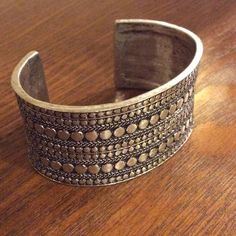NWT Lucky Brand Cuff Bracelet NWT. Sold out most places. Silver tone. Not marked Sterling, so not Sterling. Do not buy if you have metal allergies. No low ball offers, seriously. See the listing in my closet about trades, don't ask here for a trade. I don't trade with non compliant or high drama Poshers. Lucky Brand Jewelry Bracelets