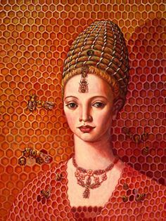 ≗ The Bee's Reverie ≗ Bee Hive by Lea Bradovich
