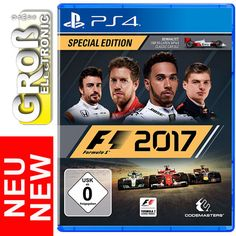 F1 2017 Special Edition Formula 1 Spezial Edition PS4 DT Version VÖ. 25.08.2017