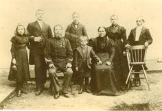 Adriaan Horsten en zijn familie