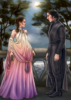 Excuse me while I interrupt The Witch's Kind novel for my favorite Reylo fic tonight 😍 Kylo Rey, Kylo Ren And Rey, Rey Kenobi, Reylo Fanart, Knights Of Ren, Hades And Persephone, Star Wars Kylo Ren, Star Wars Ships, Star Wars Fan Art
