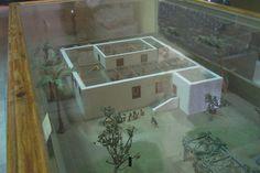 Aristocratic house at Akhetaten, King Akhenaten's new capital dedicated to his new solar god.