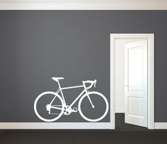 Wall Stickers Vinyl Decal Bike Biker Extreme Sport Street Youth - Custom vinyl decals for bicycles