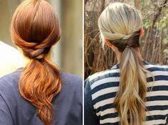 Hair Tutorial Inspired by Blair Waldorf from Gossip Girl by Twist Me Pretty