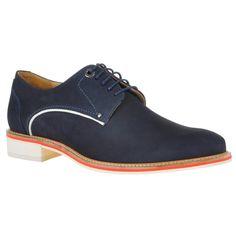 Sapato masculino cor anil