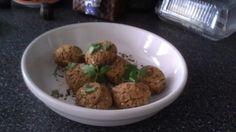 Sweet Potato Falafel with Red Quinoa Falafel, Quinoa, Sweet Potato, Grains, Rice, Potatoes, Chicken, Meat, Healthy