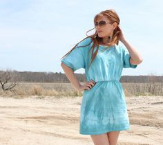 diy double t shirt sun dress